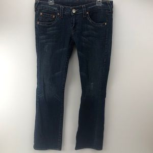 True Religion #502 Distressed Jeans Size 32